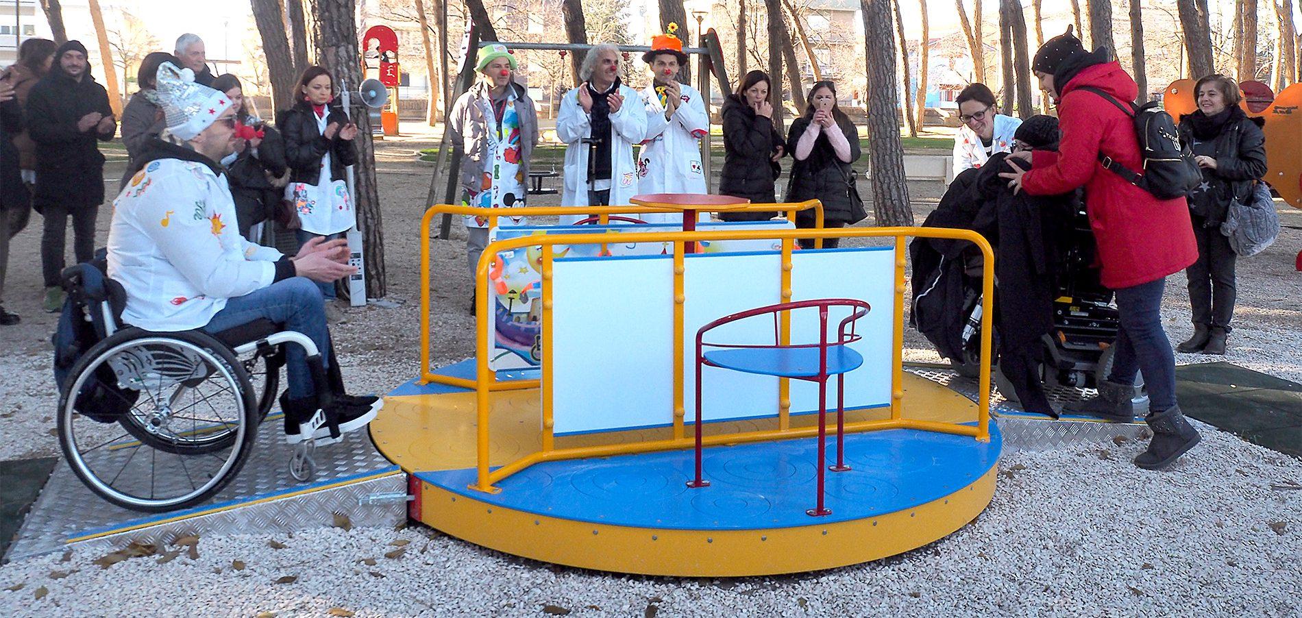 Il parco dei canap foligno umbria bimbo - Sedie per portatori di handicap ...
