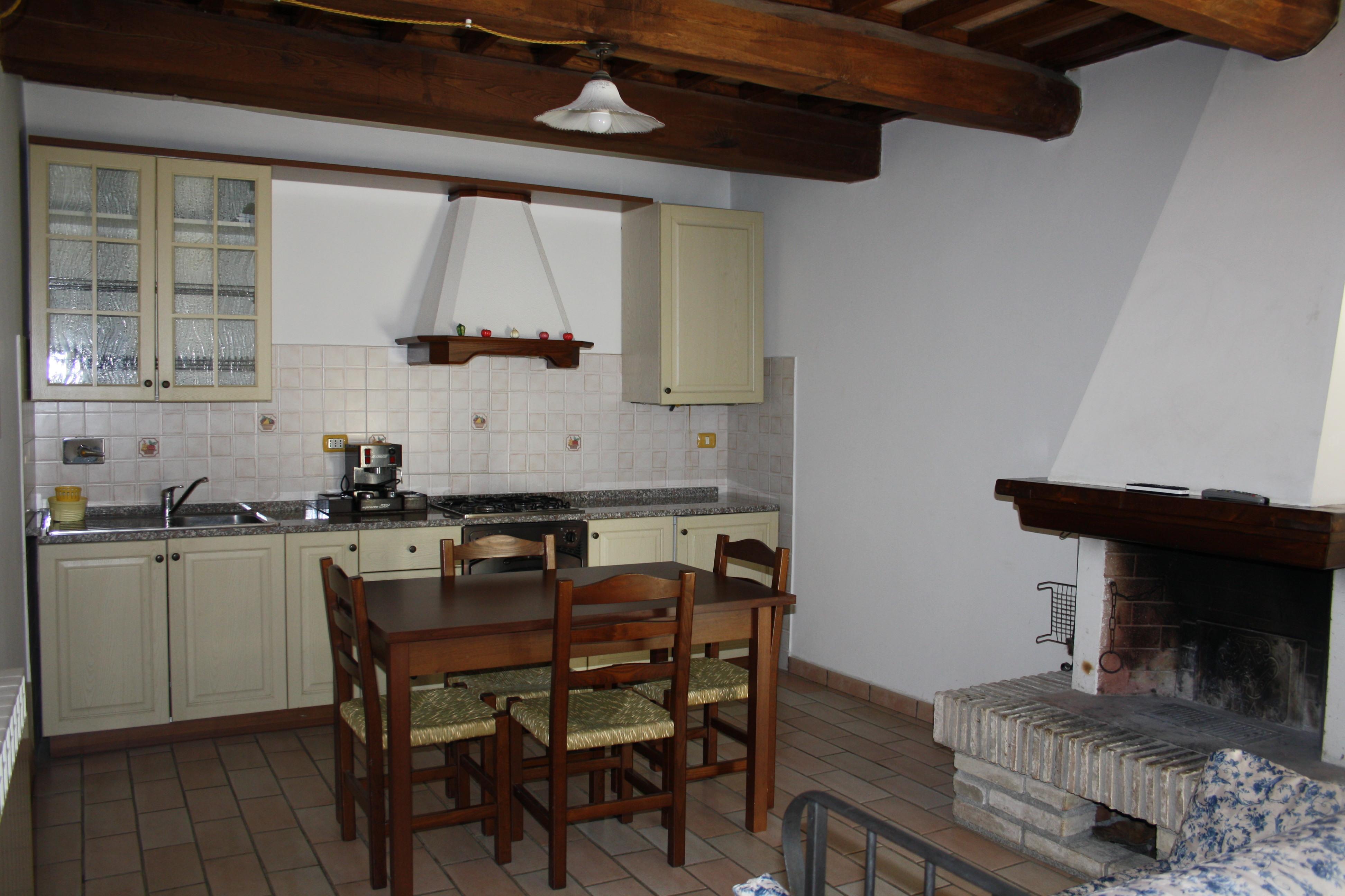 Cucina e Salone Appartamento Avorio