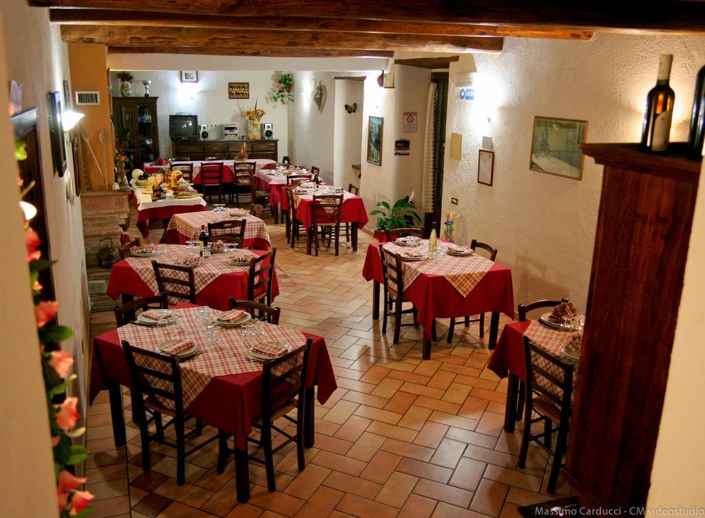 Sala Ristorante Cascina Spoleto