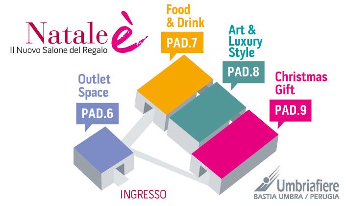 Natale è – Expo Regalo Bastia Umbra – Perugia