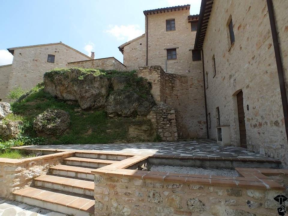 Presepe del Castello delle Cese Nocera Umbra - Umbria Bimbo