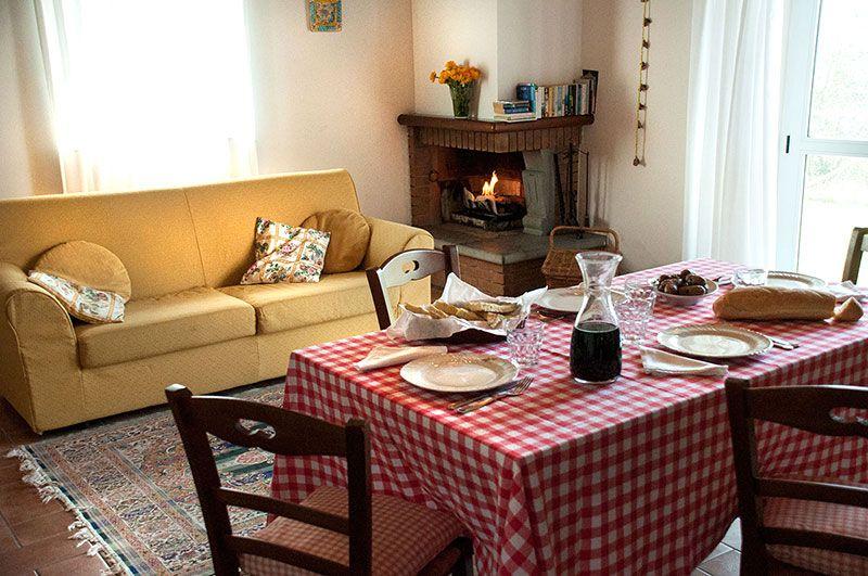 SAN VALENTINO in Appartamento con Camino e vista panoramica a Torgiano