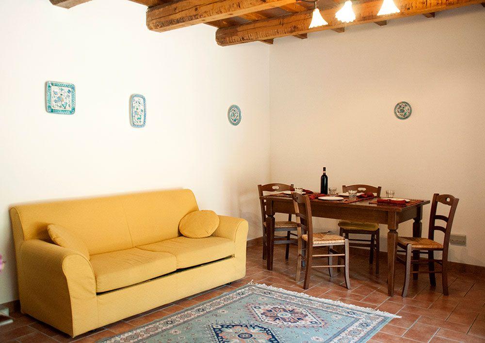 Appartamento con camino in Umbria - Mimosa