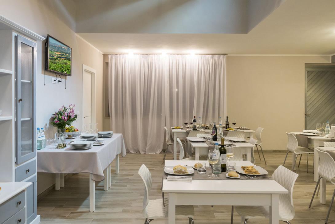Camera e colazione a Todi