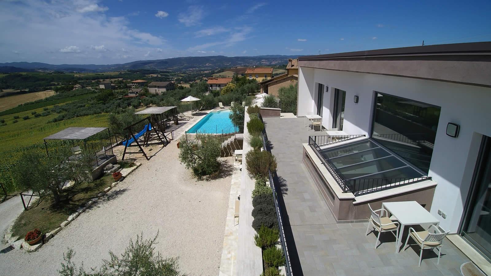 Camere e appartamenti vacanza a Todi