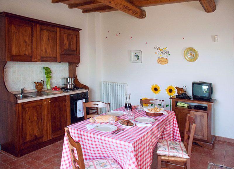 Corcoro appartamento per famiglie a Torgiano