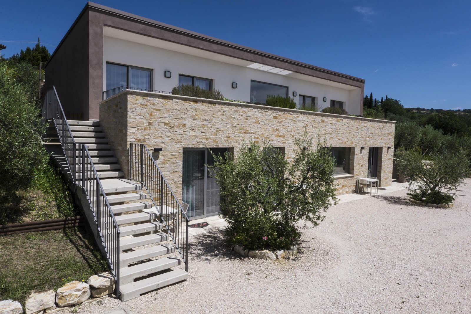 Design Hotel camere per famiglie e coppie a Todi