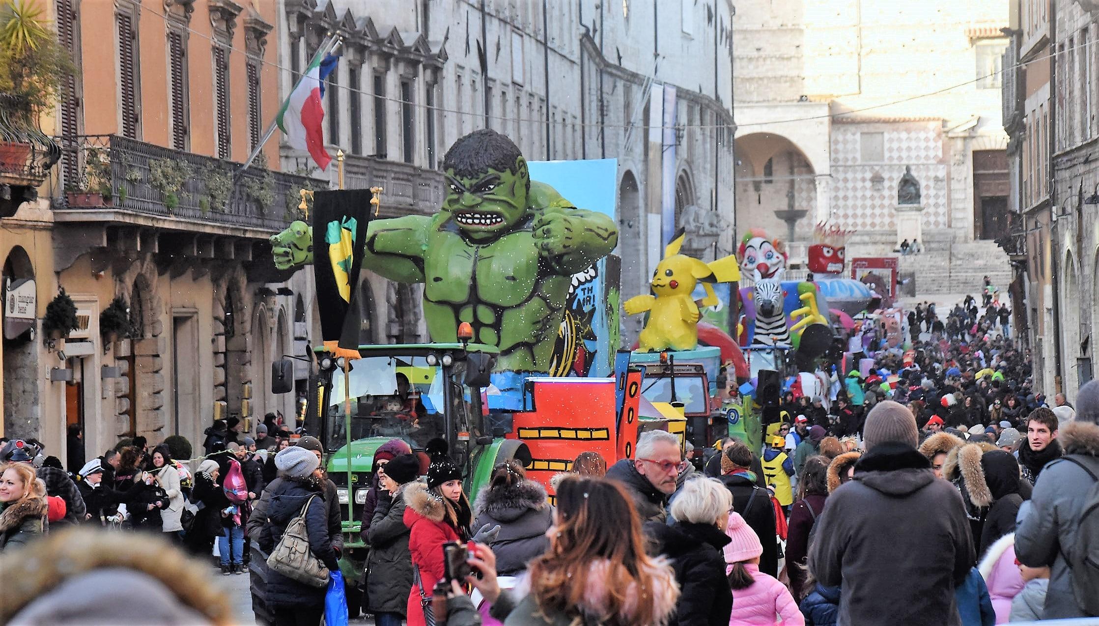 Carnevale con i bambini in Umbria: sfilate, maschere e divertimento
