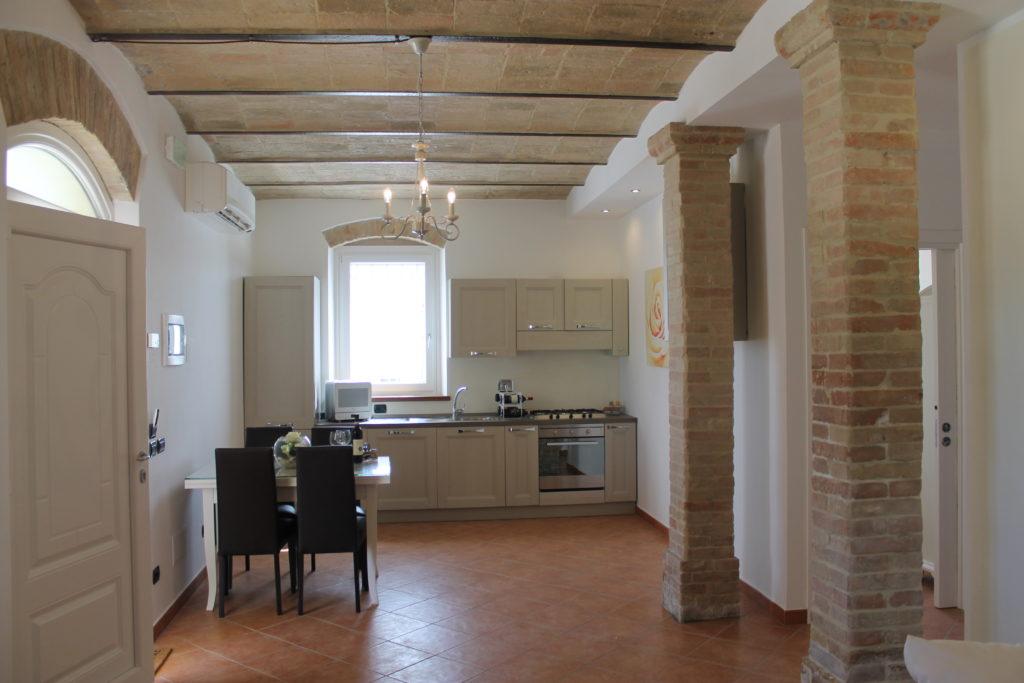 Rosa appartamento anche per disabili a Montefalco
