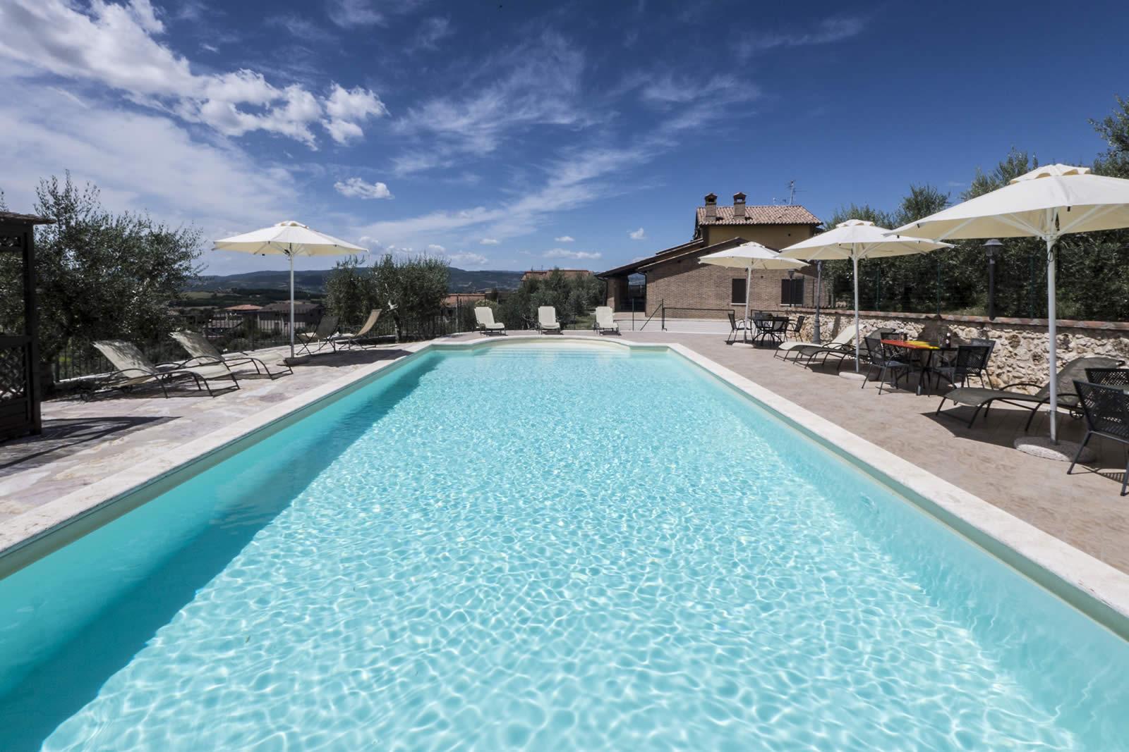Vacanze a Todi con Piscina