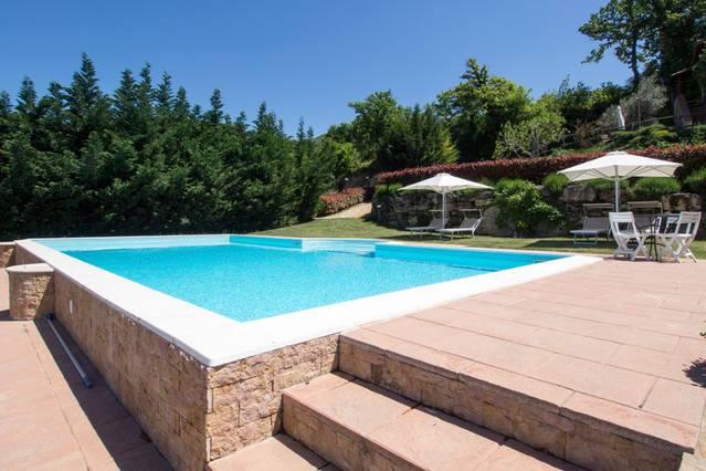 Agriturismo con piscina riscaldata in Umbria