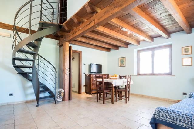 Appartamento grande per vacanze con bambini ad Alviano