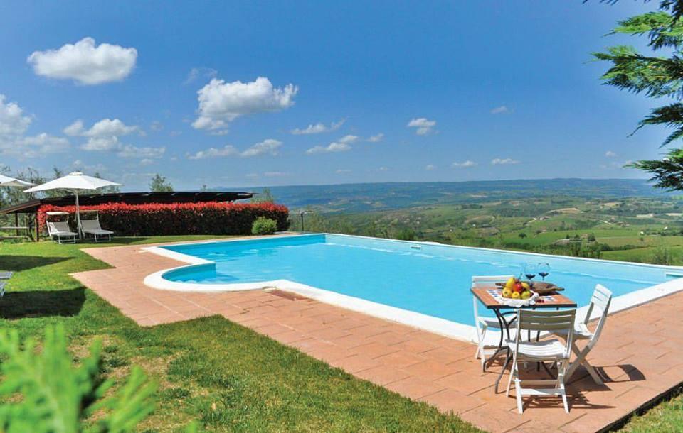 Appartamento per vacanze in Umbria con piscina riscaldata