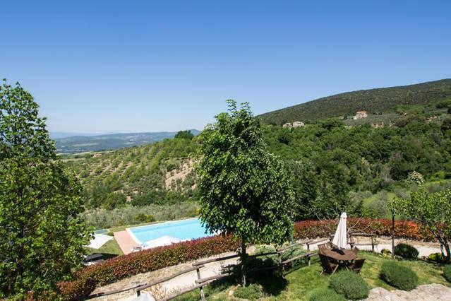 Casa vacanze con piscina riscaldata a Terni