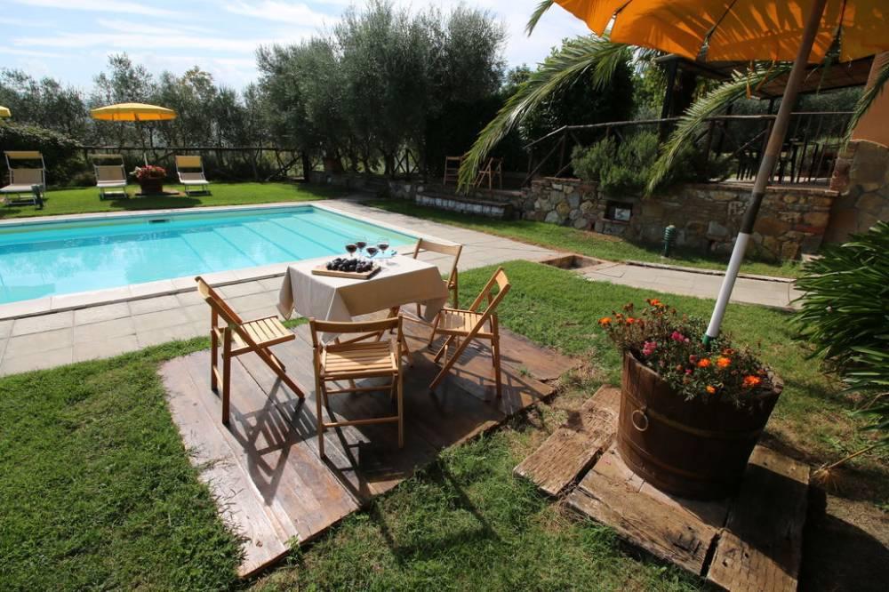 Agriturismo con servizio piscina a Castiglione del Lago