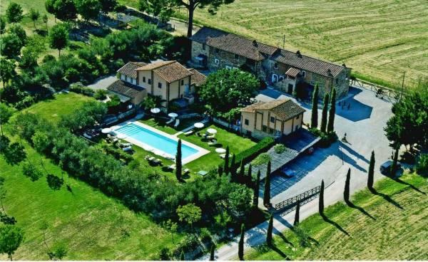 Agriturismo il Rovo di Castiglione del Lago, Umbria