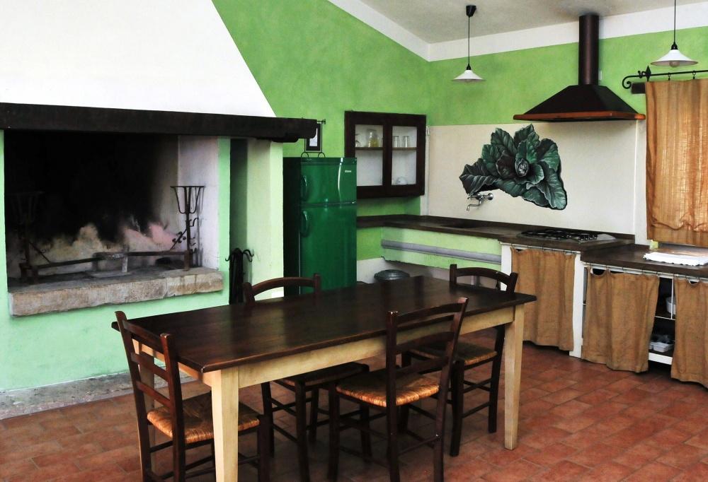 Vacanze in appartamento con camino a Castiglione del Lago