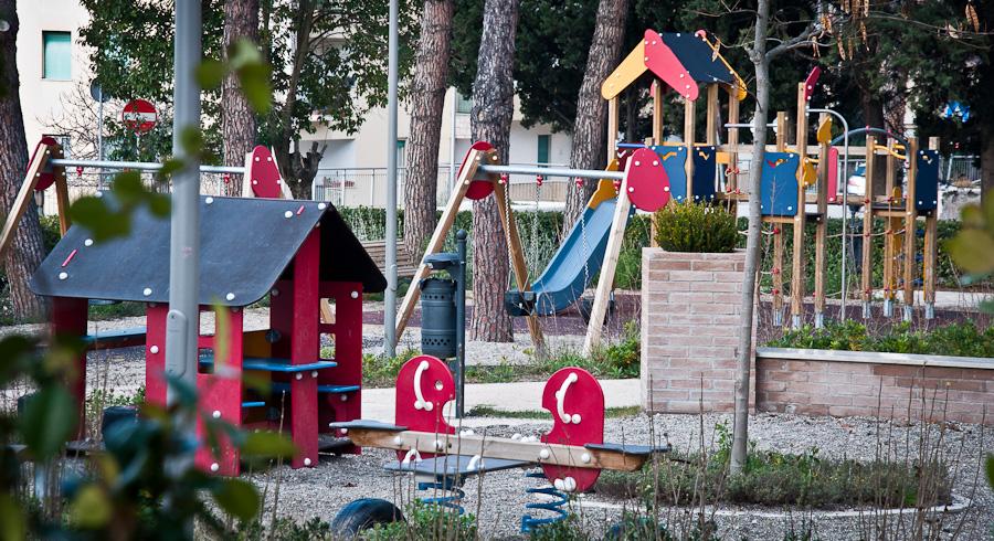 Parco Giochi per bambini del Comune di Spello, Perugia