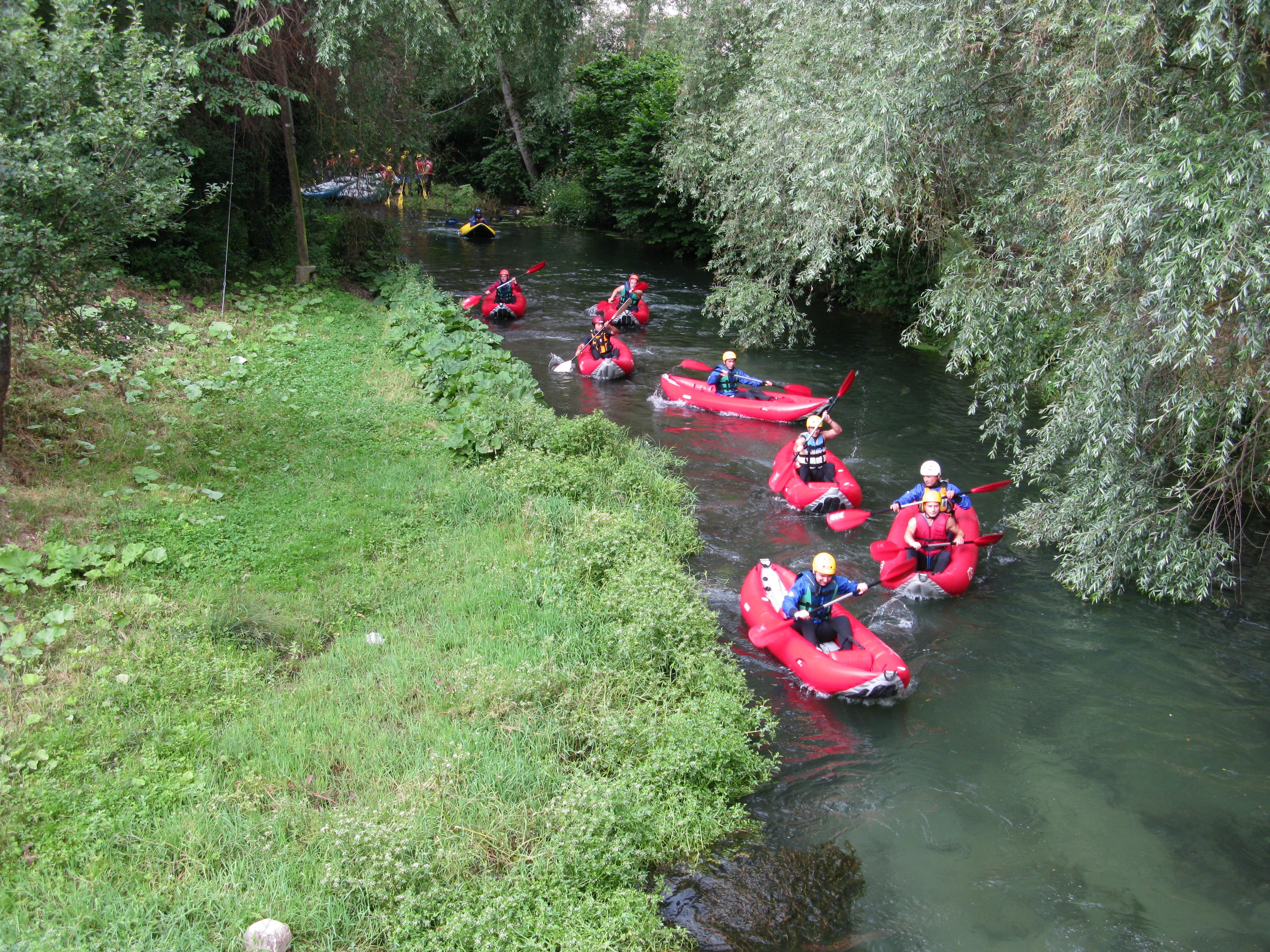 Sport acquatici in Valnerina