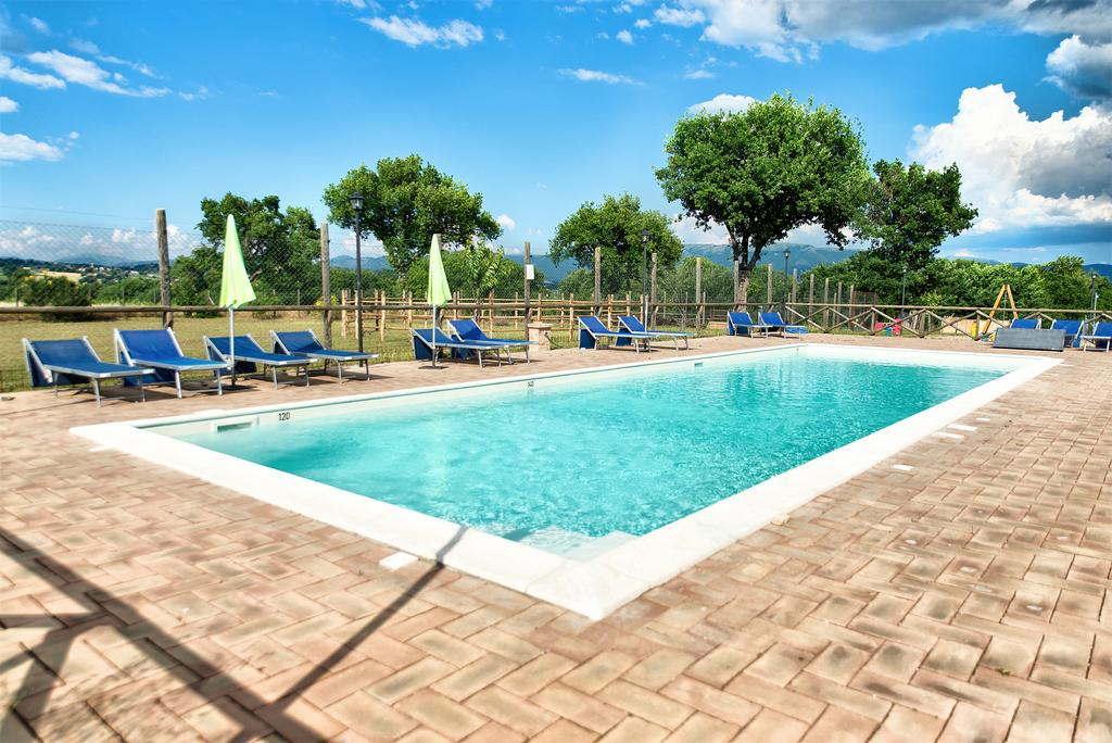 Agriturismo con Piscina in Umbria