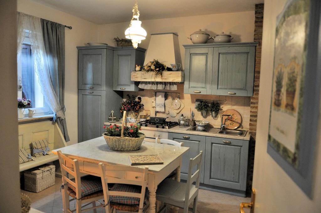 B&B con cucina in stile shabby chic in Umbria
