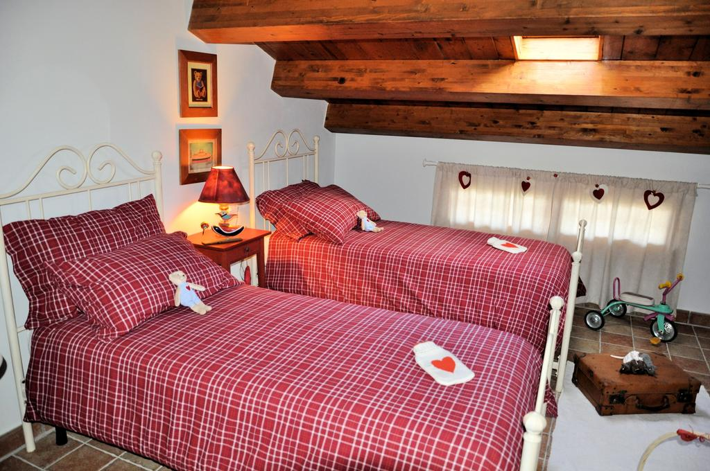 Camere per coppie o famiglie in stile shabby chic in Umbria centrale