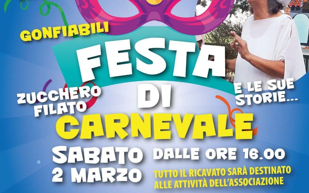 Festa di Carnevale a Foligno con Maria Luisa Morici presso Spazio Hippo