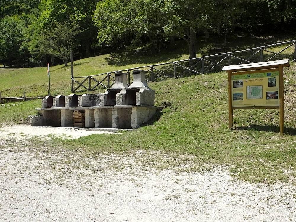 Area di sosta San Paterniano, Sellano