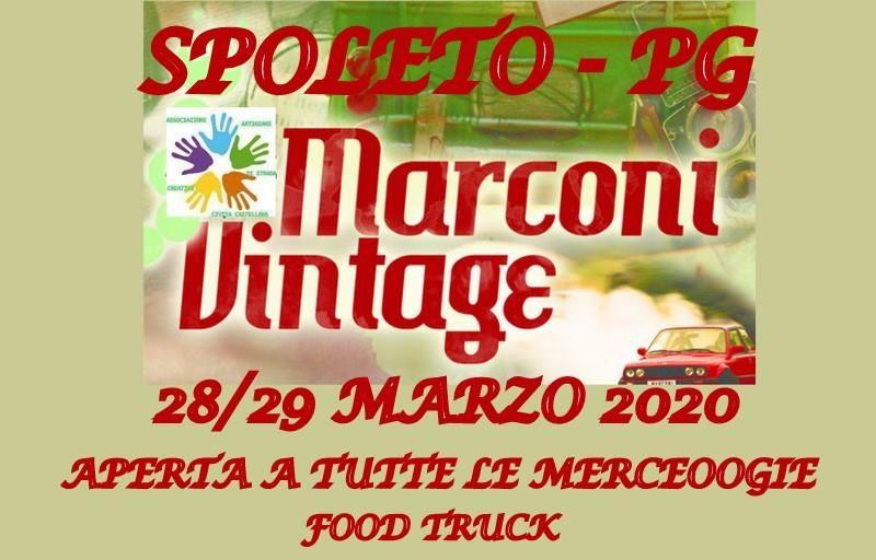 Marconi Vintage a Spoleto: mercatini, musica, street food e animazione