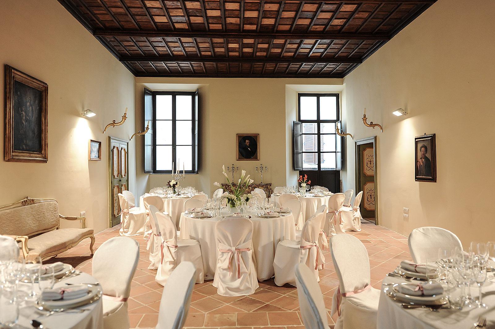 Feste e cerimonie in sala a Foligno centro