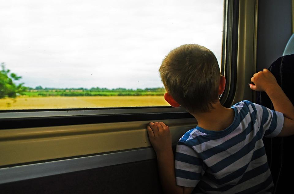 In Umbria in Treno con bambini