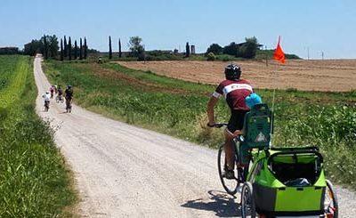 Percorsi in bicicletta in Umbria da fare con bambini
