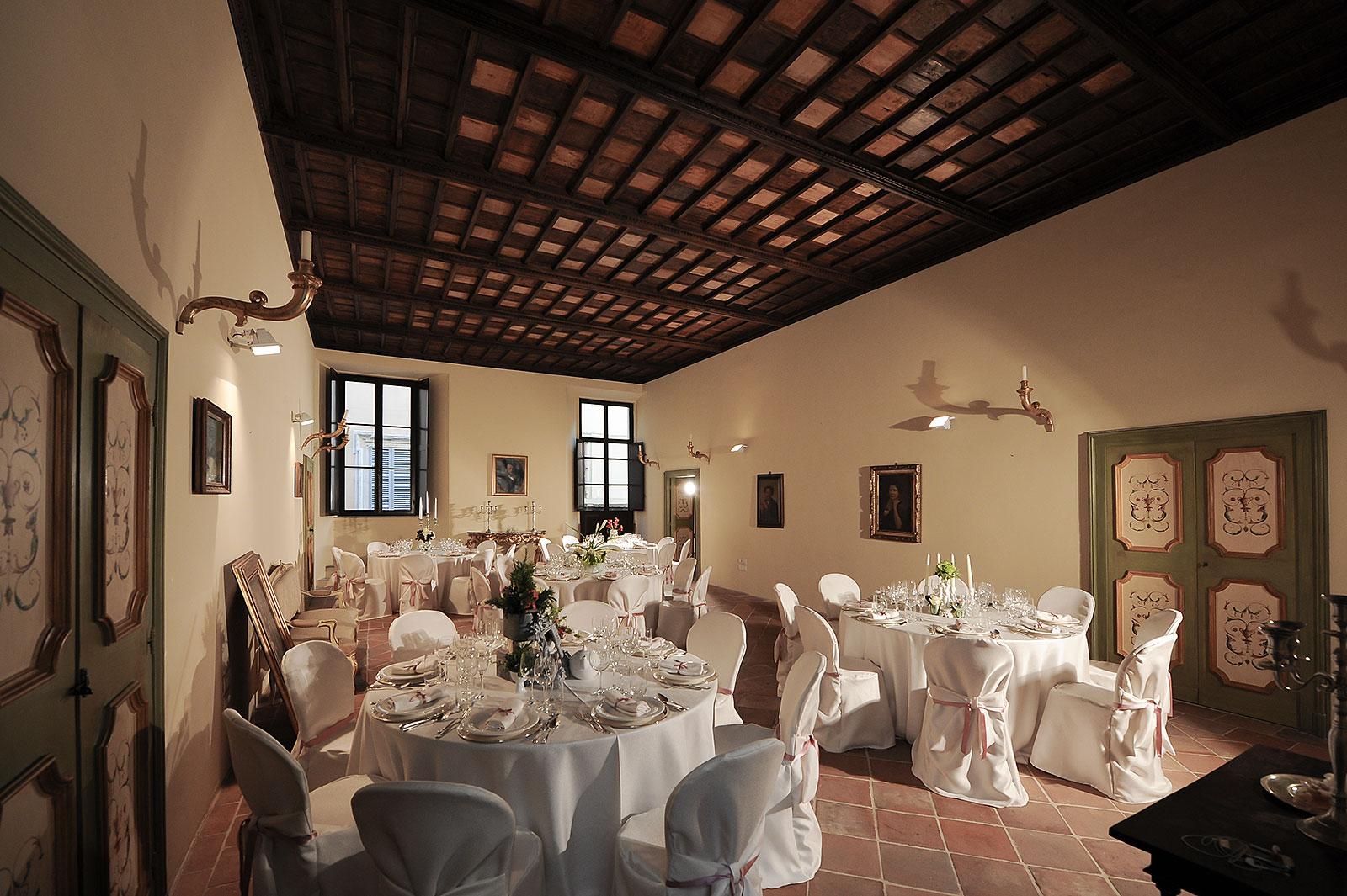 Salone per feste private ed eventi di lusso a Foligno