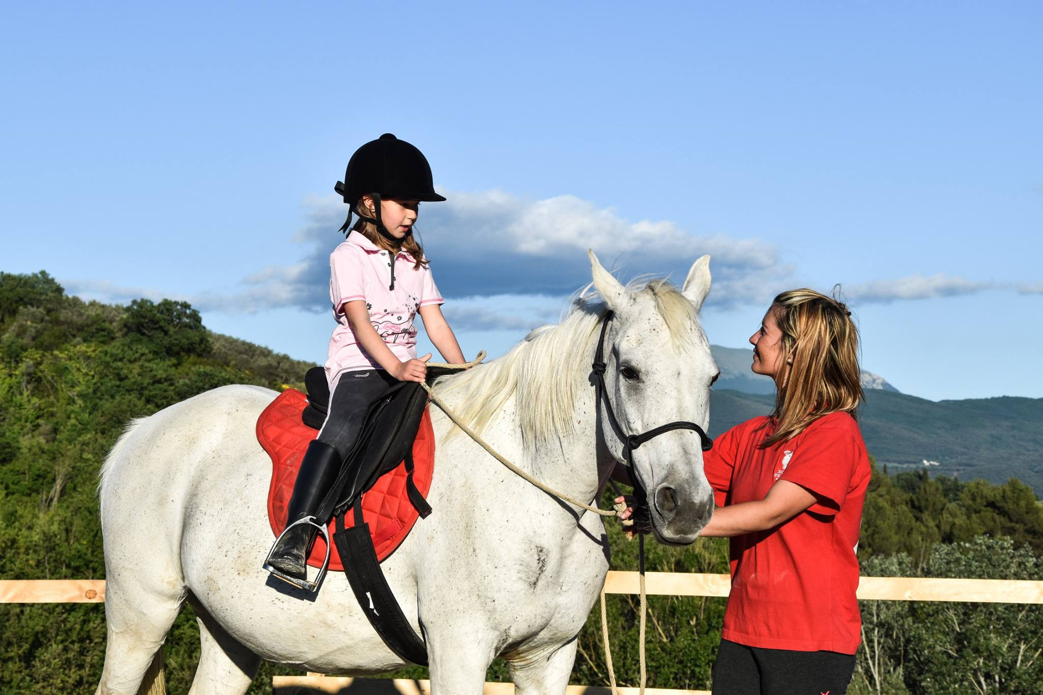 Agriturismo con cavalli e animali a Spoleto
