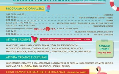 CAMPUS ESTIVO AL FLEX VILLAGE DI FOLIGNO