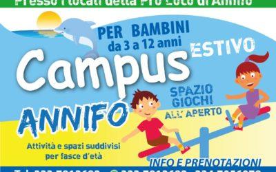 CAMPUS ESTIVO per bambini ad Annifo di Foligno