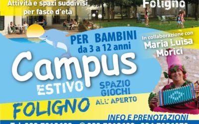 CAMPUS ESTIVO a Foligno con Maria Luisa Morici