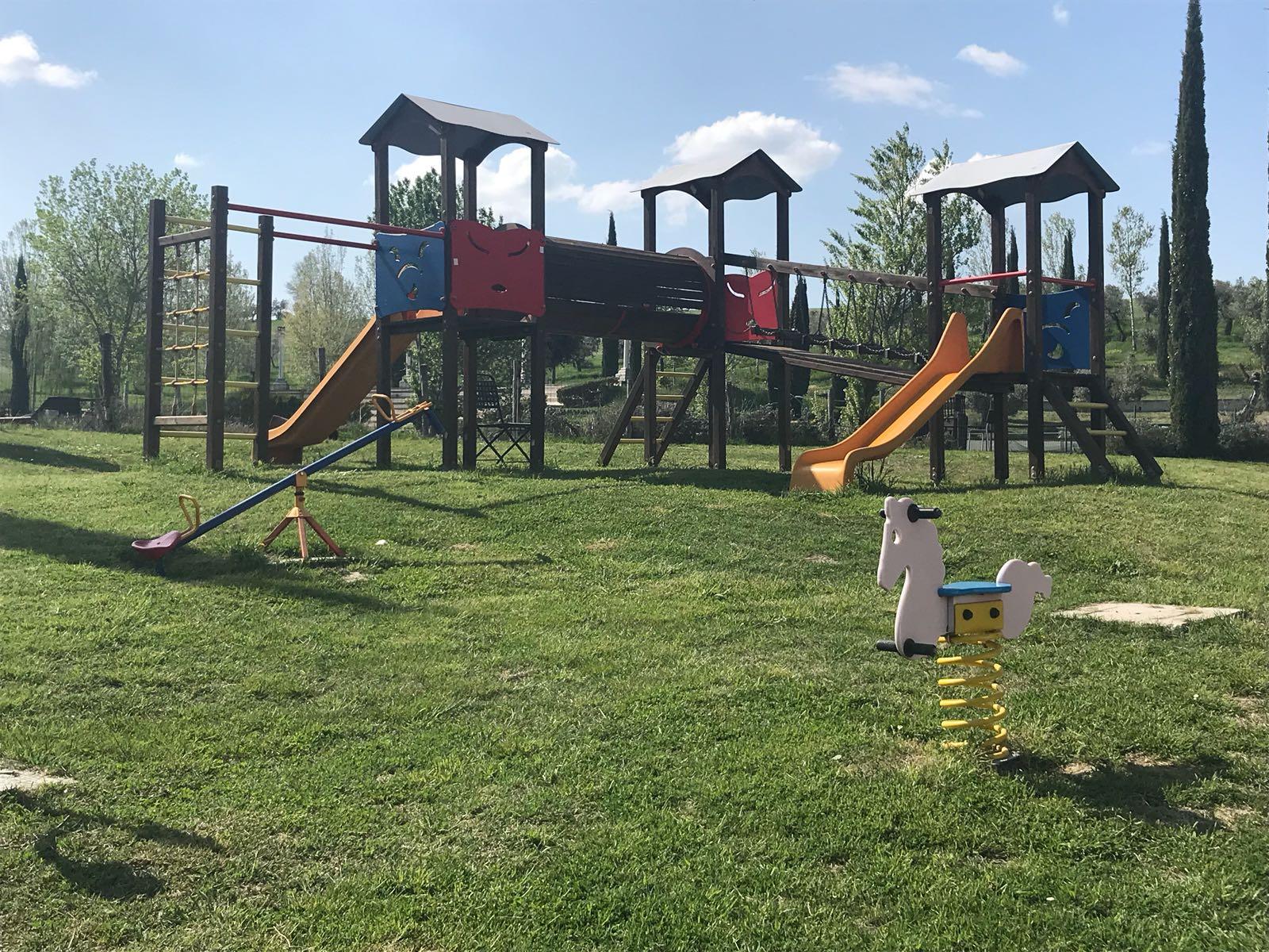 Parco giochi del parco divertimenti Acquarossa di Gualdo Cattaneo
