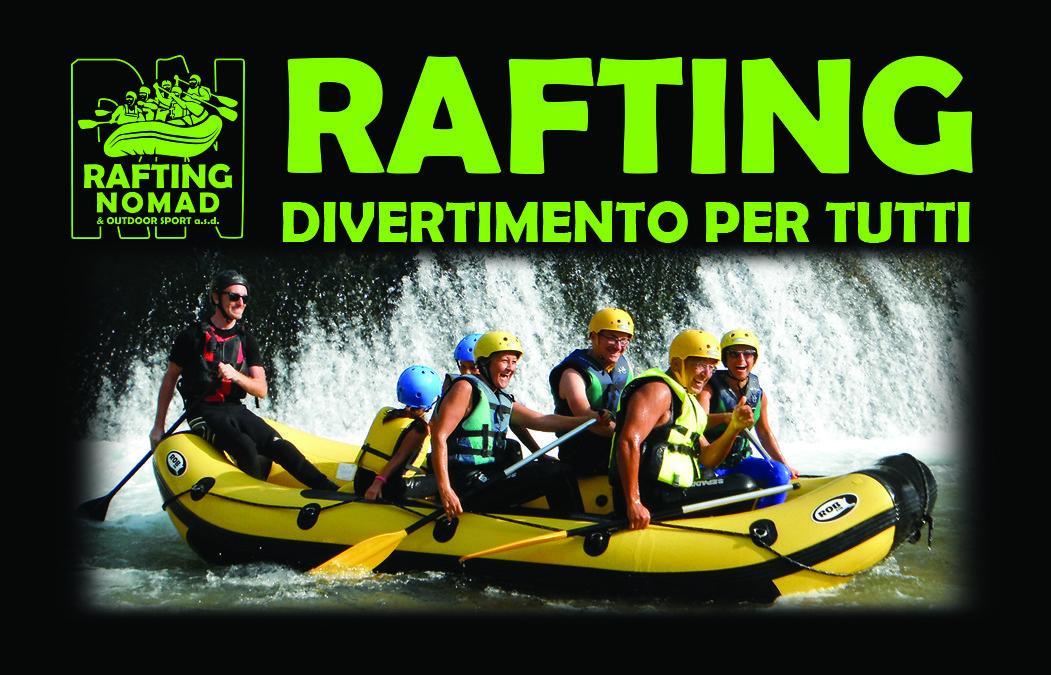 Prezzi RAFTING con bambini in Umbria