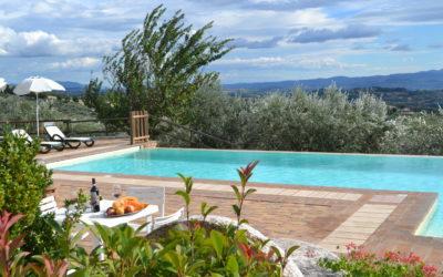 OFFERTA OGNISSANTI in Appartamenti vacanze con camino in Umbria