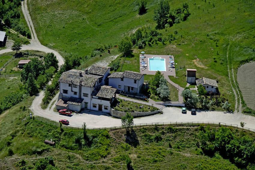 Agriturismo con animali e piscina la Valle di Cascia