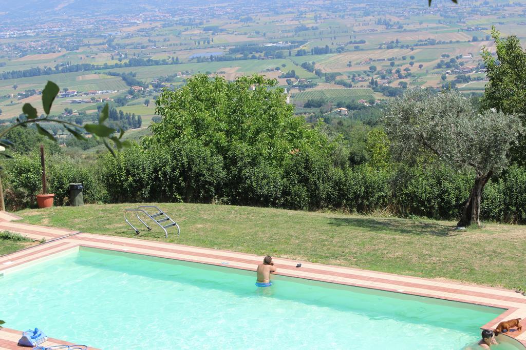 Agriturismo con piscina tra Assisi e Bevagna