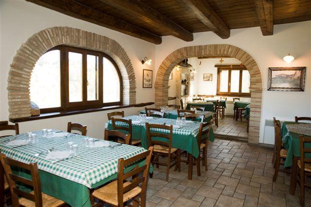 Agriturismo con ristorante a Cascia