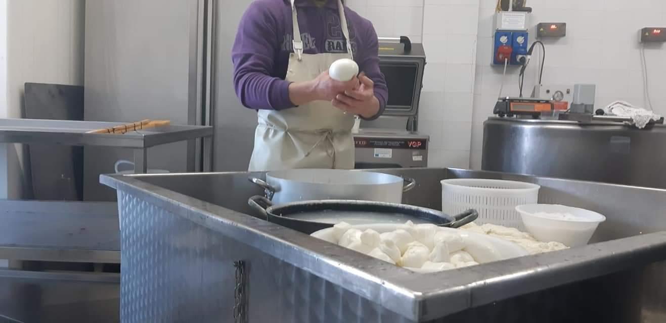 Agriturismo lavorazione latte di capra in Umbria