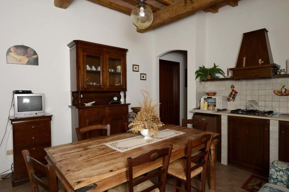 Appartamenti vacanza con cucina adatti alle famiglie in Umbria