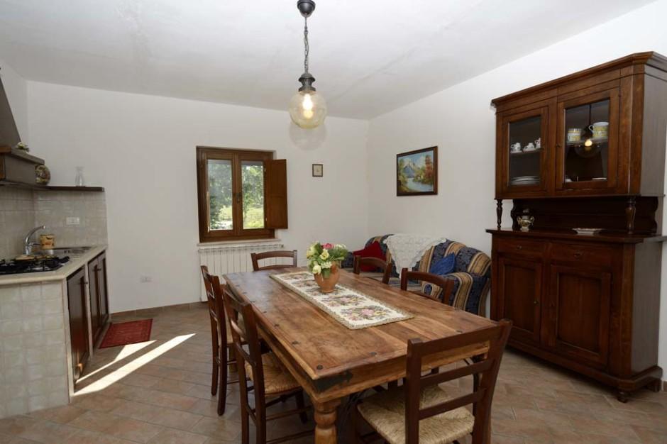 Camera adatta a famiglia con bambini in vacanza in Umbria