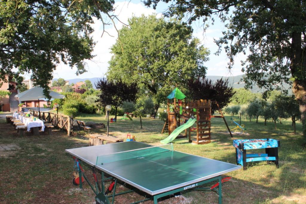 Casa vacanze con biliardino, ping pong e campo da bocce a Terni