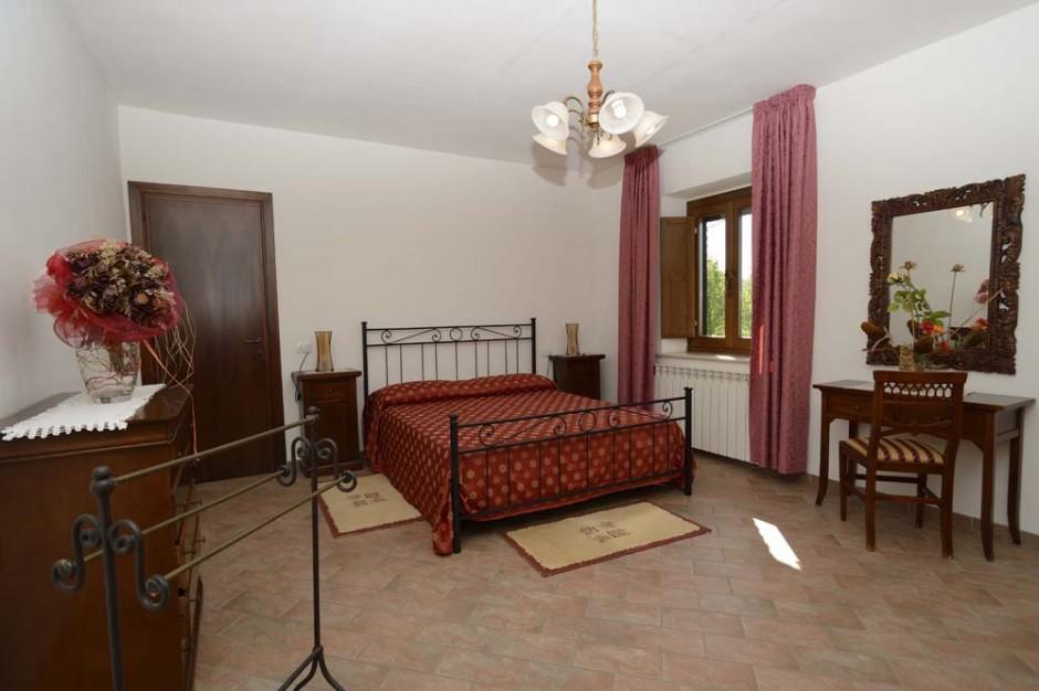 Casa vacanze con camere molto spaziose a Terni