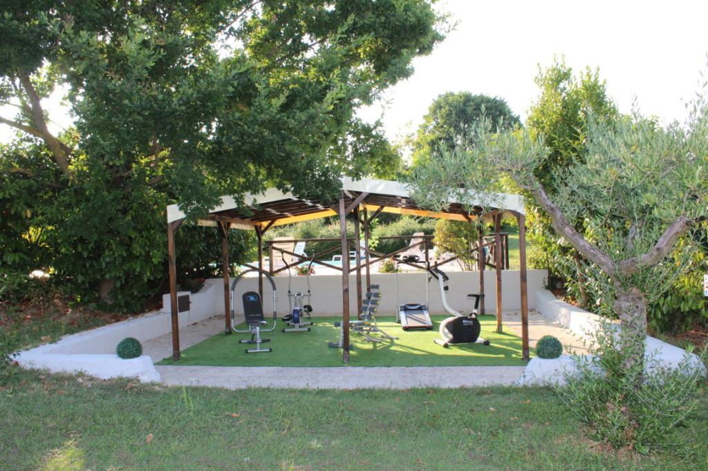 Casale per vacanze in Umbria ternana con palestra