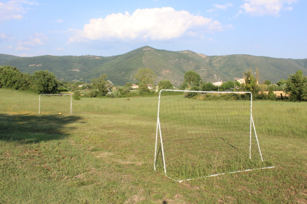 Giocare a calcio in vacanza in Umbria